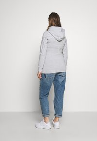 Anna Field MAMA - 2 PACK NURSING HOODIE - Mikina s kapucí - light grey/dark blue - 3