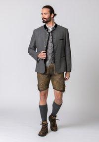 Stockerpoint - QUINTUS - Blazer jacket - stone-night blue - 3