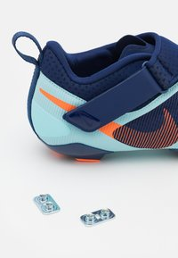 Nike Performance - SUPERREP CYCLE - Cycling shoes - blue void/total orange/copa - 5