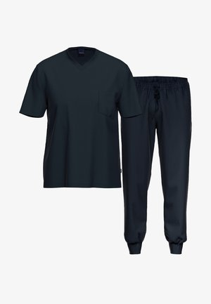 2 SET - Pyjama - dunkelblau