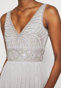 Lace & Beads Tall - MUMULAN MAXI - Galajurk - light grey - 5