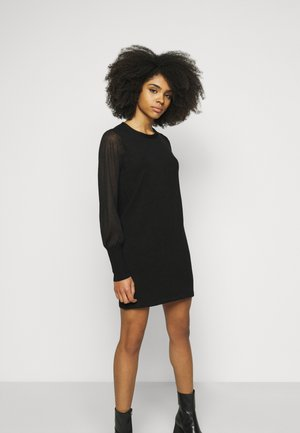 VMBELLISSIMO UBACK DRESS - Shift dress - black