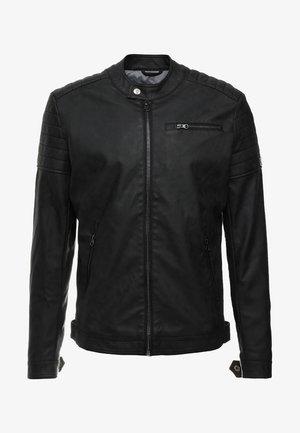 BELLYEARD - Faux leather jacket - black