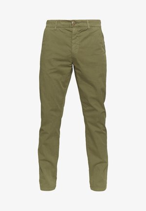 CHUCK LOOSE CHINO - Chinos - burned olive