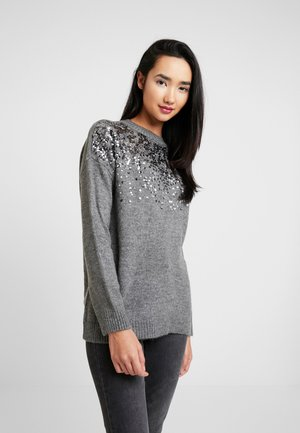 ONLANNA - Strikkegenser - medium grey