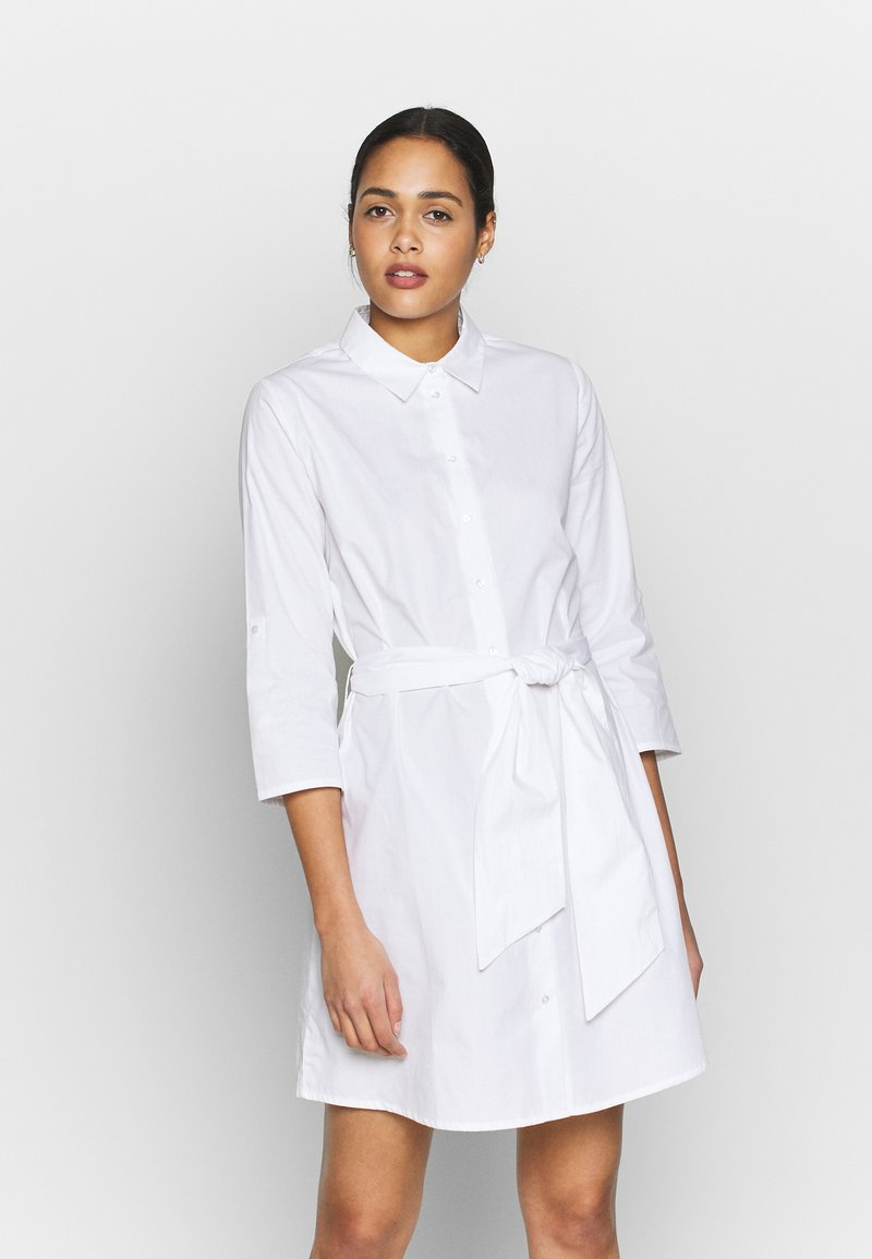JDY - JDYHALL DRESS - Shirt dress - white