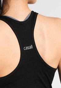 Casall - RACERBACK - Top - black - 3