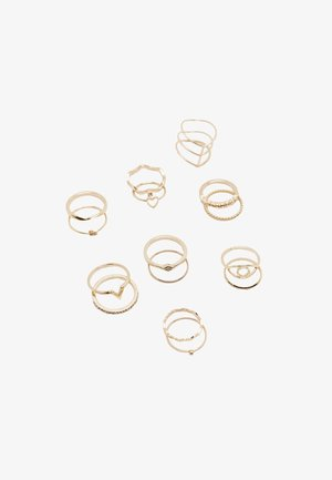 PACK - Ring - gold-coloured