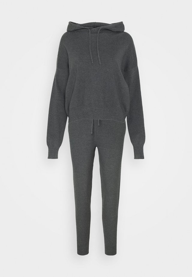 SET - Jumper - mottled dark grey