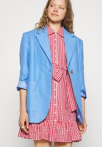 byTiMo - CHECKS KITCHEN DRESS - Shirt dress - red - 4