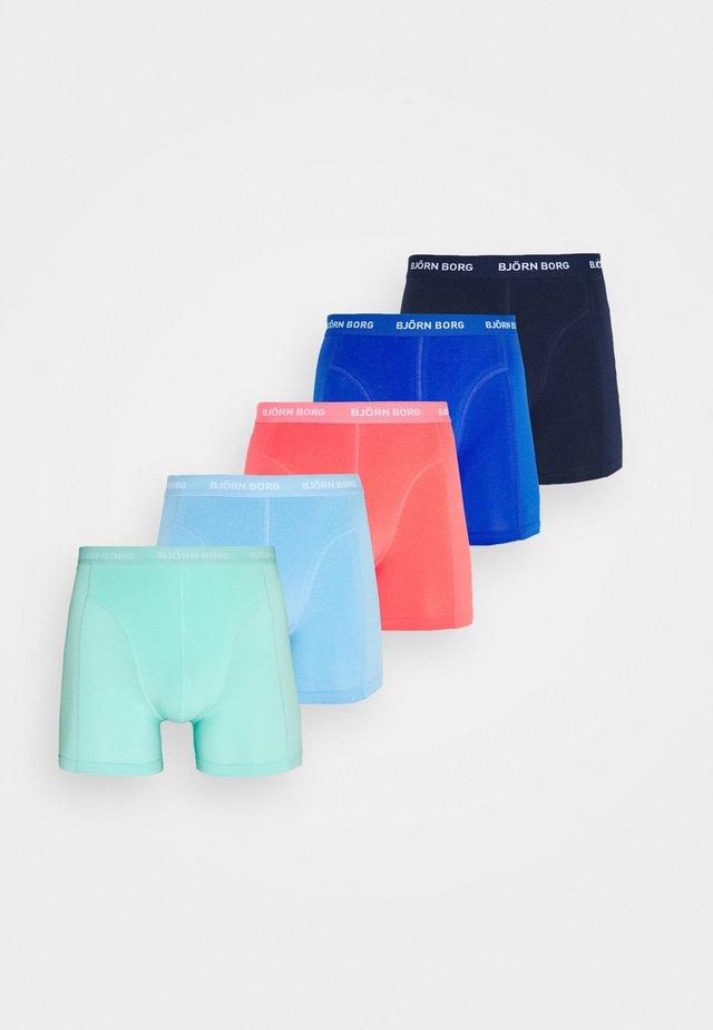SEASONAL SOLID SAMMY SHORTS 5 pack - Underkläder - beach glass