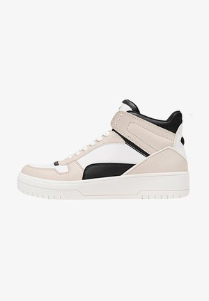 Sneakersy wysokie - light brown