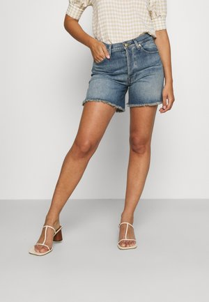 BILLIE MOST WANTED - Denim shorts - mid blue