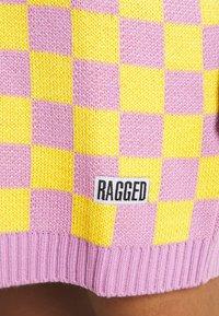 The Ragged Priest - VINYL DRESS - Jumper dress - yellow/lilac - 5
