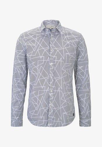 GEOMETRIC PRINT  - Shirt - white