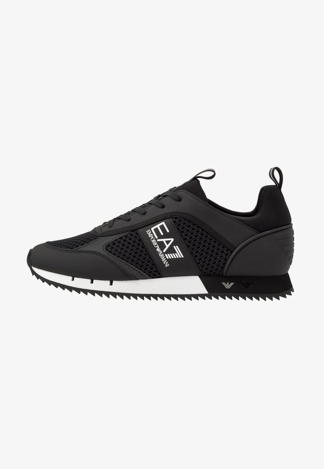 Trainers - black/white