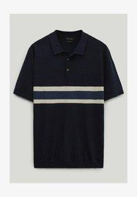 Massimo Dutti - Polo shirt - blue-black denim - 4