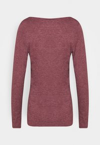Esprit - Maglietta a manica lunga - bordeaux red - 1