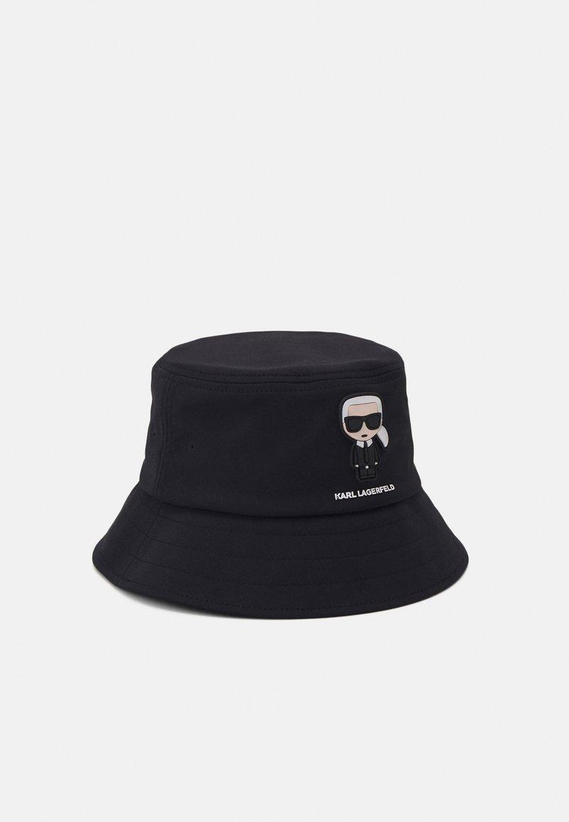 KARL LAGERFELD - BUCKET HAT UNISEX - Hut - black