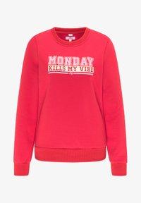 myMo - Sweatshirt - rot - 4