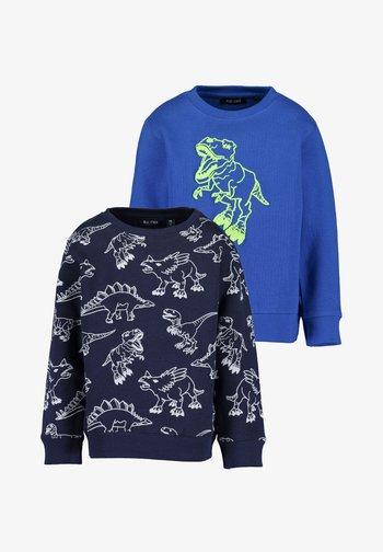 BASICS - Sweatshirt - blue/dark blue