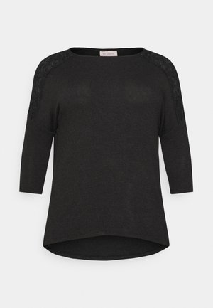 CARCARMAKOMA - Bluzka z długim rękawem - black melange
