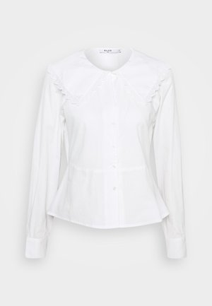 EMBROIDERY COLLAR - Button-down blouse - off white