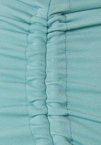 Monki - TANJA HIGHWAIST - Bikini bottoms - turquoise dusty light - 2
