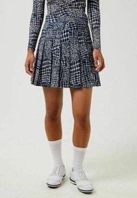 J.LINDEBERG - Sports skirt - jl navy croco - 0