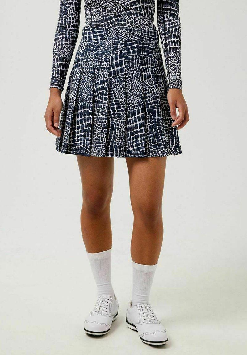 J.LINDEBERG - Sports skirt - jl navy croco