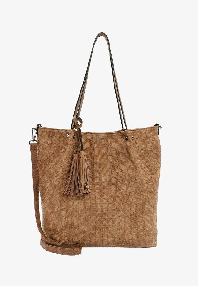SURPRISE - Shopping Bag - cognac