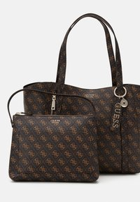 Guess - NAYA TOTE - Tote bag - brown - 3