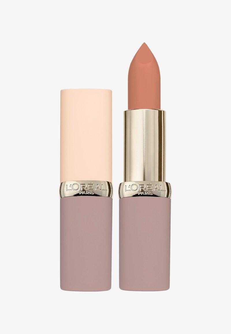 L'Oréal Paris - COLOR RICHE ULTRA MATTE FREE THE NUDES - Lipstick - 01 no obstacles