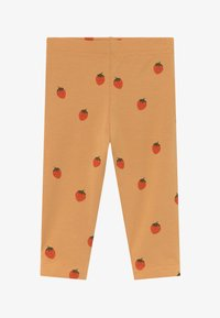 TINYCOTTONS - STRAWBERRIES PANT - Legíny - toffee/red - 2