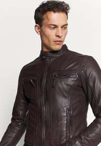 Oakwood - CASEY  - Leather jacket - wine - 3
