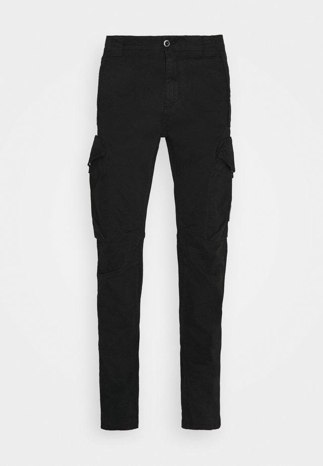 PANT - Pantalon cargo - black
