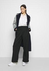 Expresso - BRENDA - Classic coat - hellgrau - 1