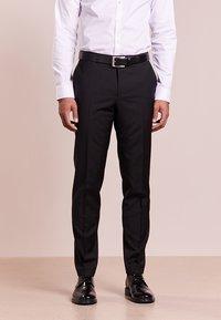 HUGO - HARTLEYS - Pantalón de traje - black - 0