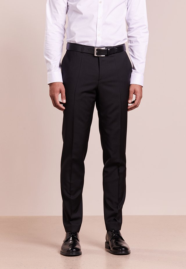 HARTLEYS - Suit trousers - black