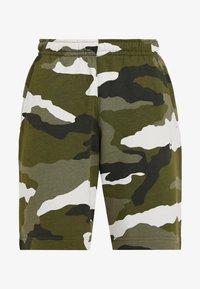 Nike Sportswear - CLUB  - Shorts - medium olive/summit white - 3