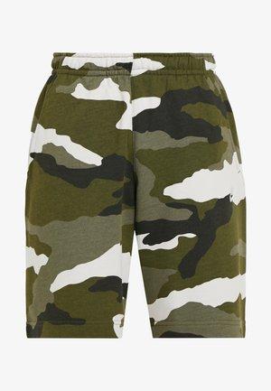 CLUB  - Shorts - medium olive/summit white