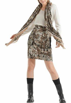 Pencil skirt - camel