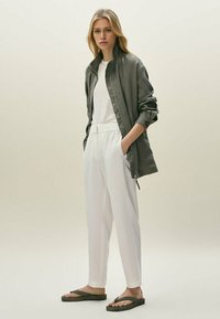 Massimo Dutti - Summer jacket - khaki - 1