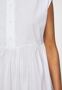Claudie Pierlot - RICATI - Shirt dress - blanc - 5