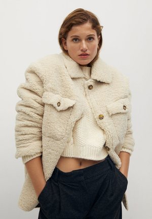 CABRETA - Fleece jacket - beige