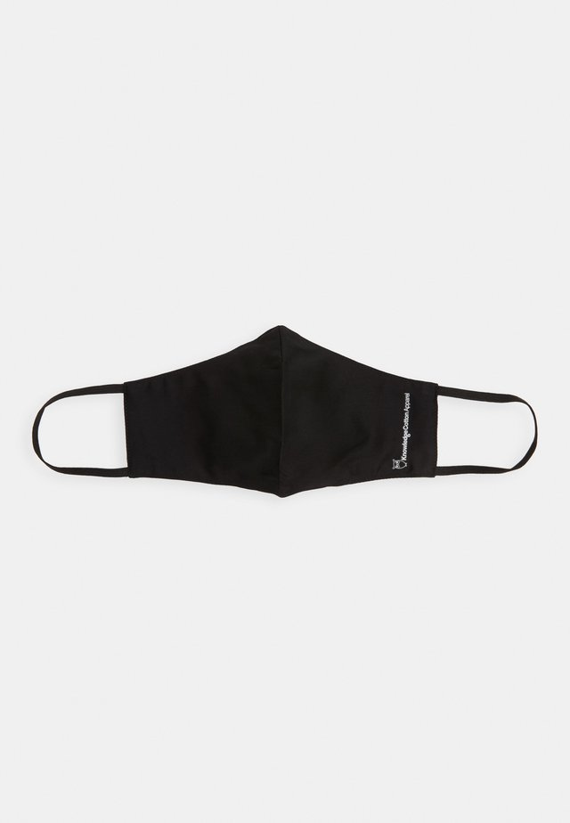 FACE MASK SINGLE UNISEX - Stoffen mondkapje - black