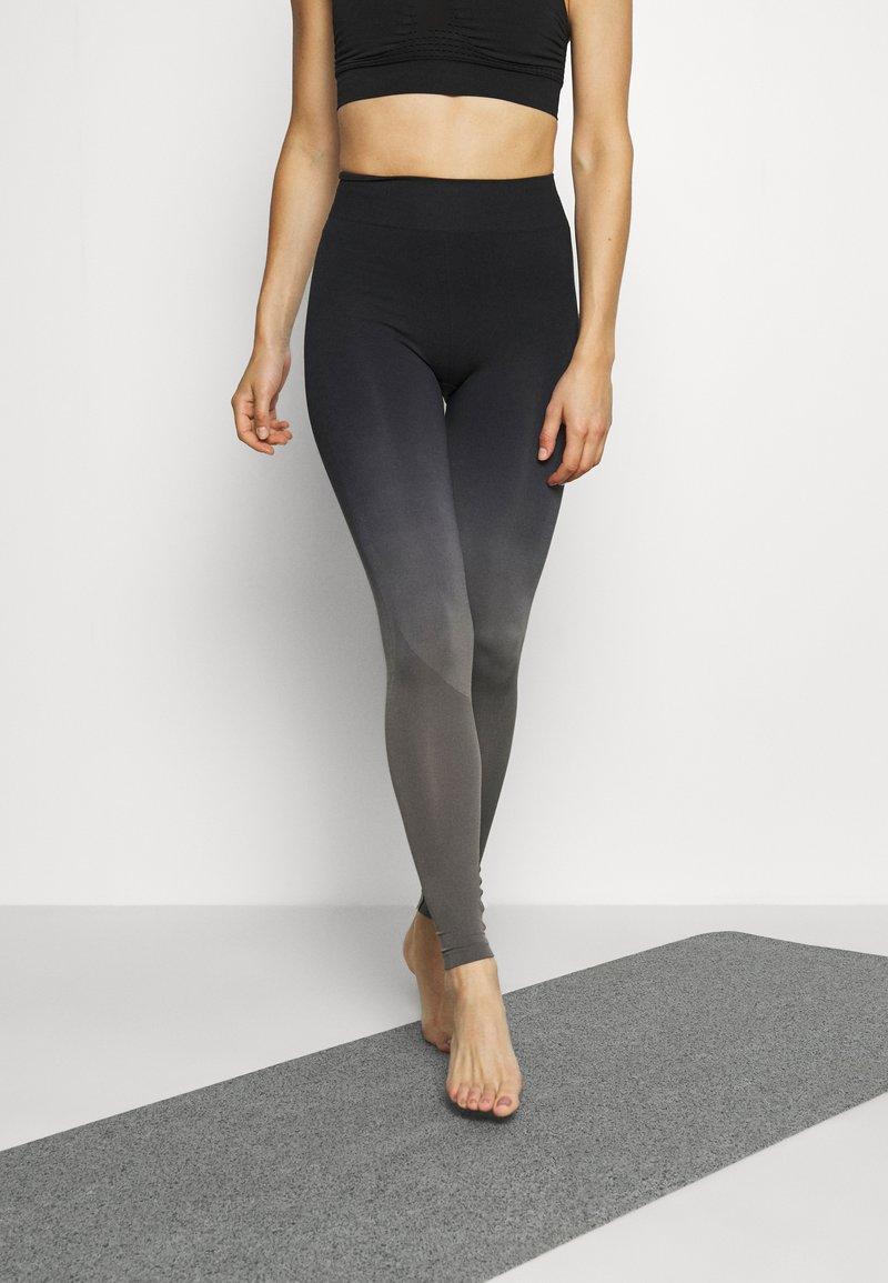 Even&Odd active - Legging - black/grey