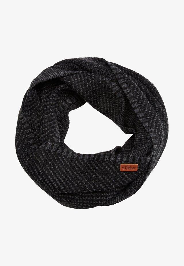 Snood - black knit