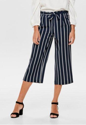 ONLWINNER PALAZZO CULOTTE PANT - Trousers - blue