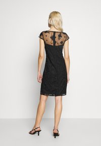 Esprit Collection - DEGRADÉ FLORAL - Sukienka koktajlowa - black - 2